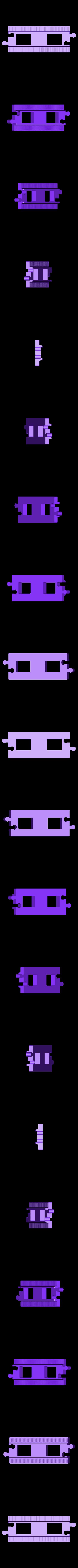 lego_tor_prosty.stl Télécharger fichier STL gratuit LEGO Duplo voie ferrée : droite (pleine grandeur) • Design pour imprimante 3D, kpawel