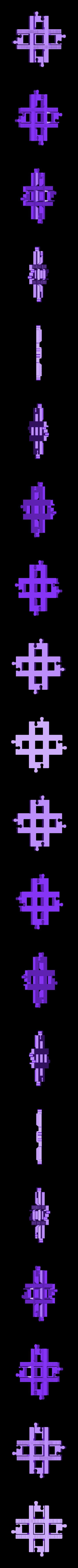 lego_tor_skrzyzowanie_90.stl Download free STL file LEGO Duplo train track: crossing (90°) • 3D printing template, kpawel