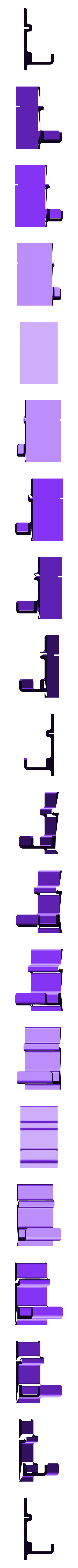 hook_20mm.stl Download free STL file FlashForge Adventurer3 Mirror Hook • 3D printing template, CyberCyclist