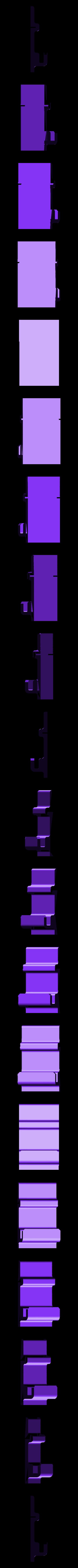 hook_5mm.stl Download free STL file FlashForge Adventurer3 Mirror Hook • 3D printing template, CyberCyclist