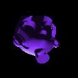 head.stl Download free STL file Princess Peach from Mario games - multi-color • 3D print design, bpitanga