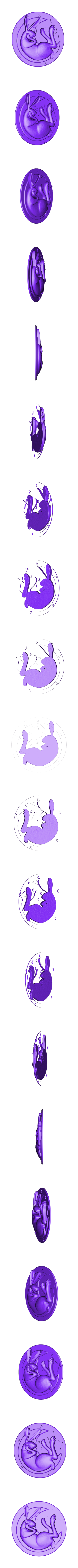 P25.stl Download STL file Bunny • Model to 3D print, 3dmodelsByVadim