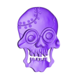 P31.stl Download STL file skull • 3D print object, 3dmodelsByVadim