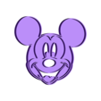 MICKEYNEGRO v1.stl Download free STL file mickey cookie cutter • 3D printable model, memy_ironmaiden