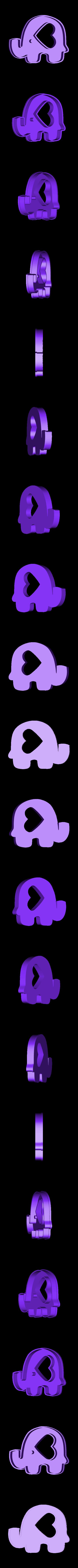FANTO v1.stl Télécharger fichier STL gratuit l'emporte-pièce éléphant • Design à imprimer en 3D, memy_ironmaiden