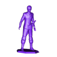 YoungLord_StandingReadyWithSword.stl Download free STL file Young Hero (multiple poses) • 3D print object, stockto