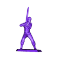 YoungLord_SwordReady.stl Download free STL file Young Hero (multiple poses) • 3D print object, stockto
