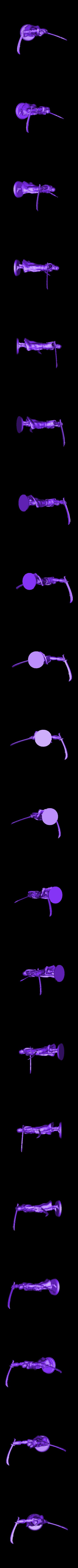 arm-out.stl Télécharger fichier STL gratuit Guerrier arabe (poses multiples) • Plan imprimable en 3D, stockto