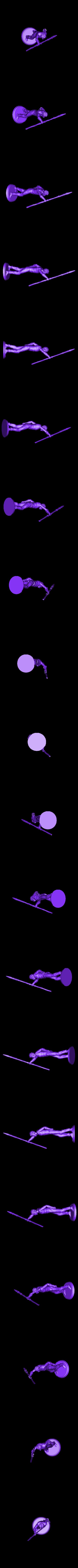 hoist_spear.stl Télécharger fichier STL gratuit Shepherd Spearman • Plan imprimable en 3D, stockto
