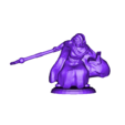 elf_mage_crouching.stl Download free STL file Fantasy Mini Collection (multiple poses) • 3D printable object, stockto