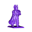 paladin_sword_down.stl Download free STL file Fantasy Mini Collection (multiple poses) • 3D printable object, stockto