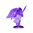 winged_guardian_defensive.stl Download free STL file Fantasy Mini Collection (multiple poses) • 3D printable object, stockto