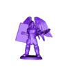 winged_guardian_spear_out.stl Download free STL file Fantasy Mini Collection (multiple poses) • 3D printable object, stockto