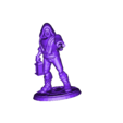 old_man_staff_out.stl Download free STL file Fantasy Mini Collection (multiple poses) • 3D printable object, stockto