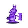 dwarven_warrior_by_kevin_mic.stl Download free STL file Fantasy Mini Collection (multiple poses) • 3D printable object, stockto