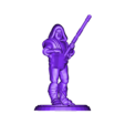 old_man_standing_ready.stl Download free STL file Fantasy Mini Collection (multiple poses) • 3D printable object, stockto
