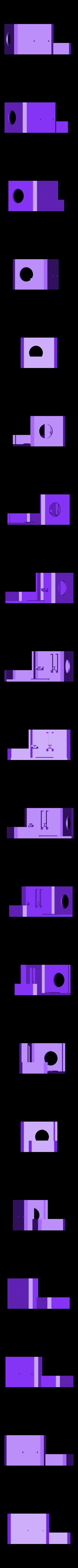 capot_neutre.STL Download free STL file Direct Drive- E3DV6- Bondtech (right)-Bltouch • 3D printer template, kim_razor