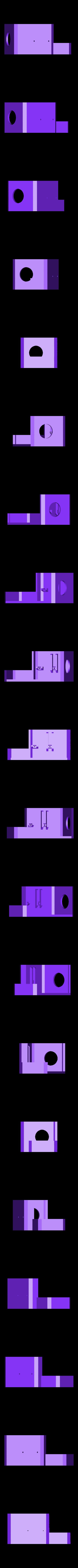 capot_lettrage_E3D_Bondtech.STL Download free STL file Direct Drive- E3DV6- Bondtech (right)-Bltouch • 3D printer template, kim_razor