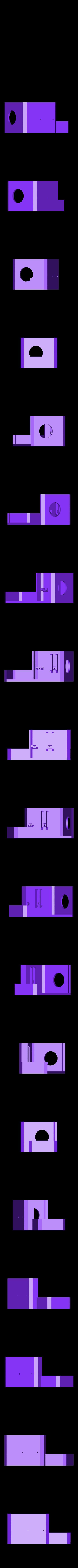 capot_lettrage_E3D.STL Download free STL file Direct Drive- E3DV6- Bondtech (right)-Bltouch • 3D printer template, kim_razor