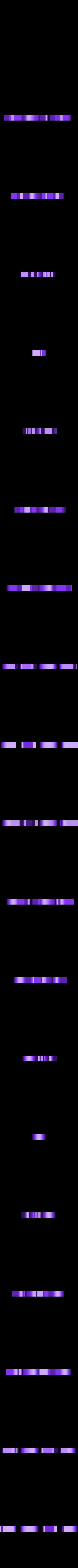 texte_Bond.STL Download free STL file Direct Drive- E3DV6- Bondtech (right)-Bltouch • 3D printer template, kim_razor