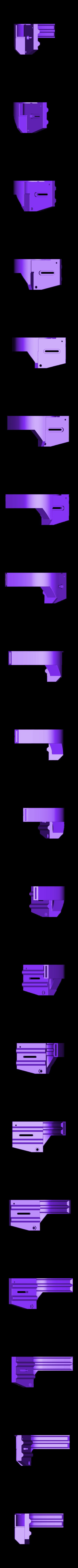 bec_5015.STL Download free STL file Direct Drive- E3DV6- Bondtech (right)-Bltouch • 3D printer template, kim_razor