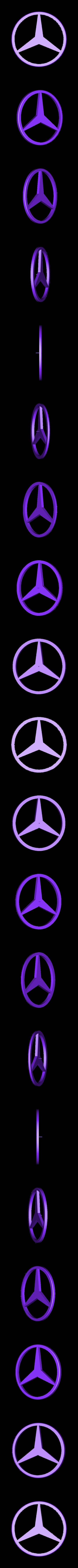 Mercedes_logo.stl Download free STL file Mercedes Benz and Volkswagen keychain • 3D printable model, Jakwit
