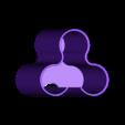 Fidget_spinner_holder_-_6_spinners.stl Download free STL file Fidget Spinner holder • 3D printing template, Jakwit