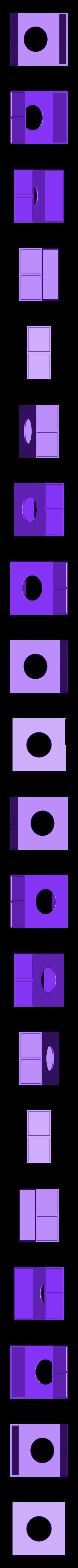 Bottom.stl Download free STL file Tardis inspired coaster box • 3D print object, Jakwit
