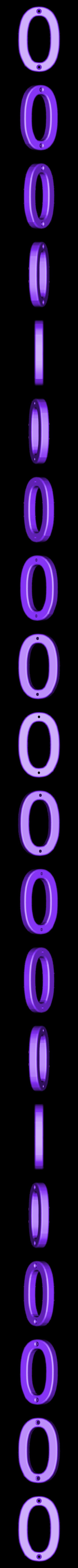 0.stl Télécharger fichier STL gratuit Numéros de maison • Modèle pour impression 3D, Jakwit