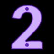 2.stl Download free STL file House Numbers • 3D print model, Jakwit