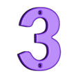 3.stl Download free STL file House Numbers • 3D print model, Jakwit