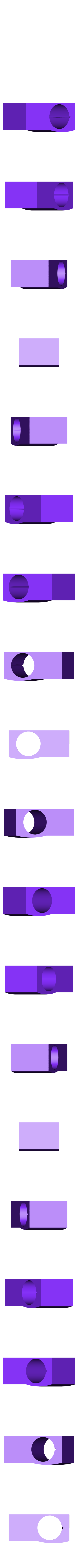 SBT9moun-rotated.stl Download free STL file SBT9 geiger tube holder for the Vindolins geiger enclosure • Model to 3D print, glassy