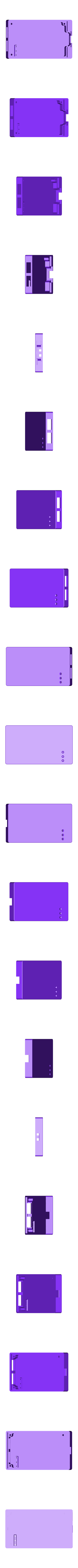 AtmelICE1-top.stl Download free STL file Enclosure ( box ) for ATMEL  programmer ATATMEL ICE PCBA  DEBUGGER,  ARM & AVR, PCBA KIT • 3D printable template, glassy