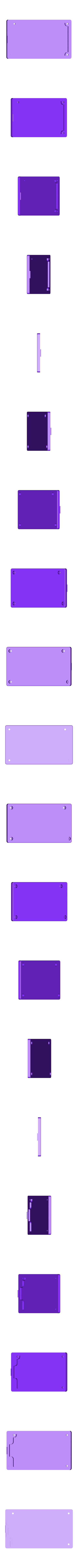 AtmelICE1-bot.stl Download free STL file Enclosure ( box ) for ATMEL  programmer ATATMEL ICE PCBA  DEBUGGER,  ARM & AVR, PCBA KIT • 3D printable template, glassy