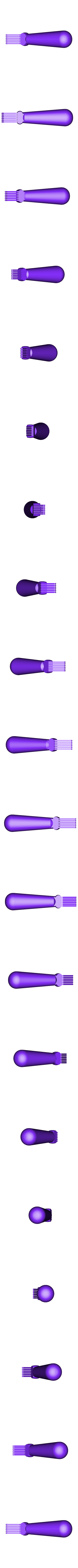 Fincomb2-6a.stl Download free STL file condenser radiator aluminium fin comb 2.8mm spacing • Design to 3D print, glassy