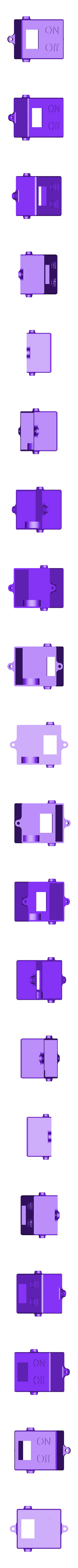 PWRFuse.stl Télécharger fichier STL gratuit Boîtier d'alimentation avec fusible pour montage en surface plate extérieure et cordon d'alimentation ordinaire à deux fils. • Plan à imprimer en 3D, glassy