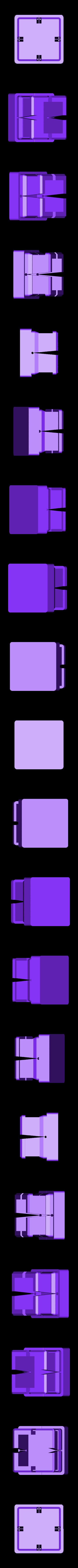 footplug.stl Télécharger fichier STL gratuit Bouchon pour profilé métallique carré • Plan imprimable en 3D, glassy