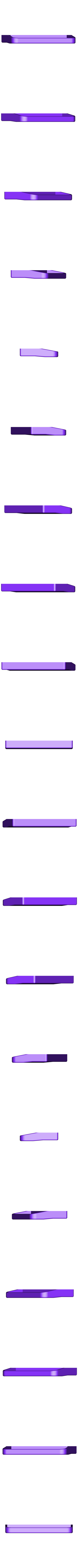 BG53.stl Télécharger fichier STL gratuit Poignée de porte-balcone GKG BG53 remplacement Balkontürgriff Ersatz • Objet pour impression 3D, glassy