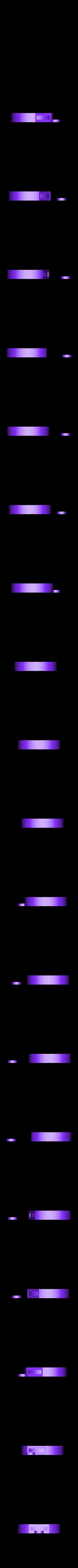 keycapshifthole.stl Télécharger fichier STL gratuit Remixage du capuchon/couvercle de clé embarqué (position de trou différente) • Objet pour impression 3D, glassy