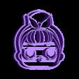 LOL.stl Download STL file Lol x 4 cookie cutter - LOL cookie cutter • 3D printable template, Gatopardo