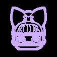 cara LOL2.stl Download STL file Lol x 4 cookie cutter - LOL cookie cutter • 3D printable template, Gatopardo