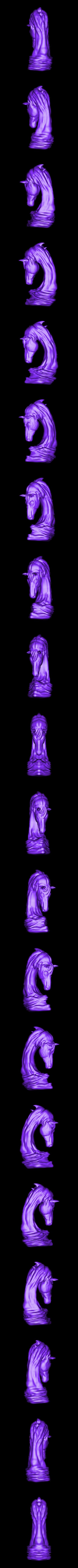 asb marpich.obj Download OBJ file horse art statue • 3D printable object, saeedpeyda
