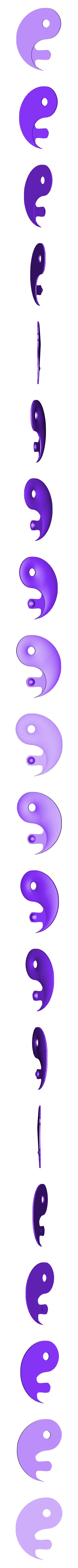 Yin et yang.stl Download free STL file Yin and yang • 3D printer design, robinwood87cnc