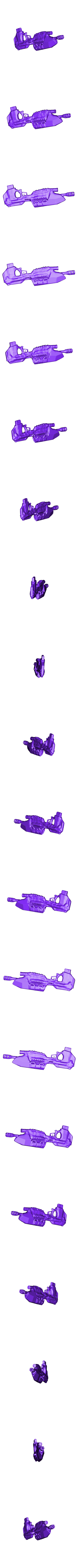 Sparten rifle v7 backup.obj Download OBJ file Halo rifle • 3D print template, Josefbouzgarrou