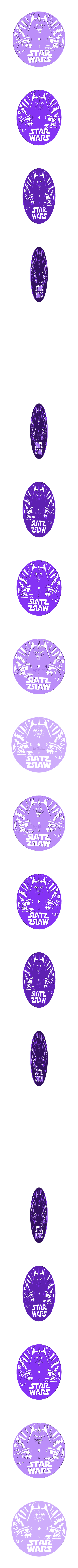 Reloj_Star_wars_vl.stl Download free STL file Reloj Star Wars Darth Vader • 3D printer object, 3dlito
