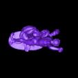 louvre-hercules-fighting-achelous-in-serpent-form-1.stl Télécharger fichier STL gratuit Hercule Combat douloureux Métamorphosé en serpent au Louvre, Paris. • Objet pour impression 3D, Louvre