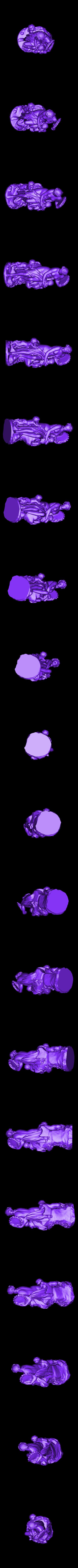 louvre-bacchante-with-tambourine-and-children-1.stl Télécharger fichier STL gratuit Bacchante avec Tambourine et enfant au Louvre, Paris. • Objet à imprimer en 3D, Louvre