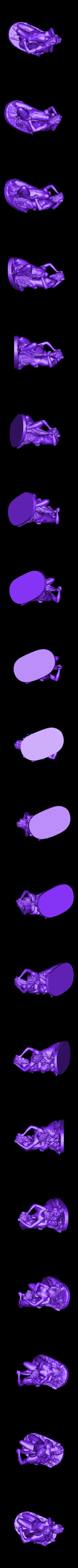 louvre-satyre-and-bacchante-1.stl Télécharger fichier STL gratuit Satyre et Bacchante au Louvre, Paris • Plan pour impression 3D, Louvre