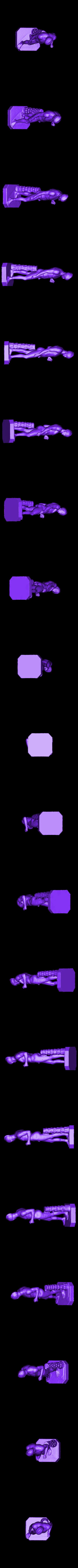 louvre-ares-mars-borghese-1.stl Télécharger fichier STL gratuit Ares Borghese au Louvre, Paris • Plan pour impression 3D, Louvre