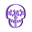 coco calavera.stl Download STL file Coconut Skull Kit Cookies cutter • 3D printable object, abauerenator